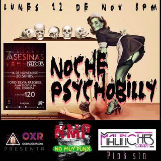No Muy Punx Noche Psychobilly
