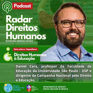 #039 - EP3/5 Série Educação e Capacitismo: Direitos Humanos à Educação com Daniel Cara