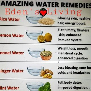 Amazing Water Remedies