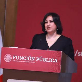 Irma Eréndira Sandoval deja el cargo de secretario de la Función Pública