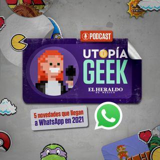 5 novedades que llegan a WhatsApp en 2021