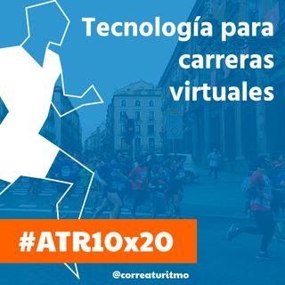 ATR 10x20 - Cronochip, tecnología para carreras virtuales y cómo equiparse para correr por la nieve