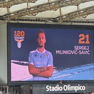 23.10.2019 Conferenza Stampa Milinkovic Pre Celtic-Lazio
