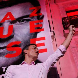 Pedro Sánchez arrasa durante las elecciones en España