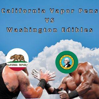 Data Battle: CA Vapor Pens VS WA Edibles