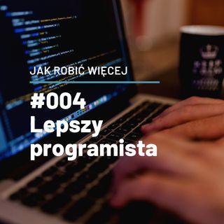 Jak robić więcej jako programista opowie Krzysztof Jendrzyca - JRW #004