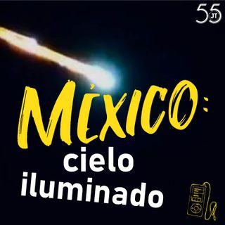 Meteorito en México: noche iluminada