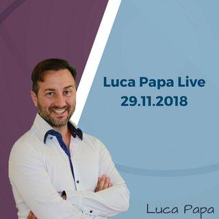 Luca Papa Live 3° Q&A - 29.11.18