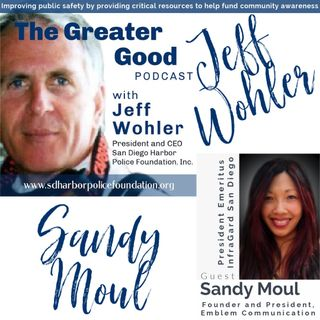 Sandy Moul is LIVE on The Greater Good with Jeff Wohler Ep 270