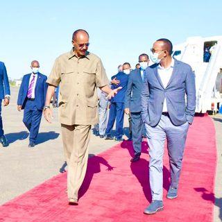 Nagayé Nagayé 3 - Etiopia ed Eritrea si uniranno? Le forze militari lo stanno facendo...
