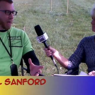 Storyteller in A House of Sand with Author Michael Sanford interview on the Hangin With Web Show