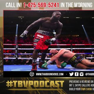 """☎️STOP THE EXCUSES:😱Deontay Wilder's Manager Says Fury's Count Was A """"Little Long"""" 🤦🏽♂️"""