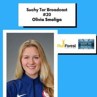 Olivia Smoliga Mistrzyni Olimpijska i Mistrzyni Świata w pływaniu w Suchy Tor Broadcast #20