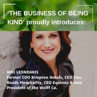 She is one of the most admired CEOs in the country: Niki Leondakis