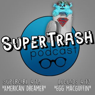 "Supertrash: ""American Dreamer""/ ""Egg MacGuffin"""