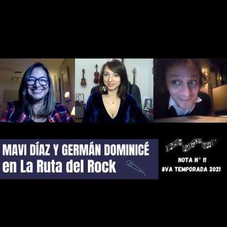 La Ruta del Rock con Mavi Diaz y Germán Dominicé