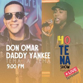 DON OMAR AND DADDY YANKEE🔥