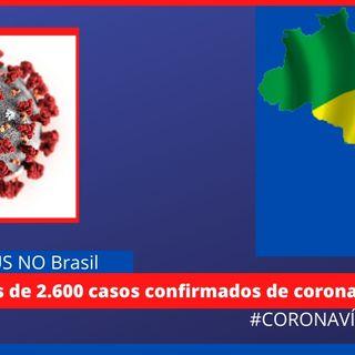 Novas Atualizações sobre o coronavírus no Brasil (26)