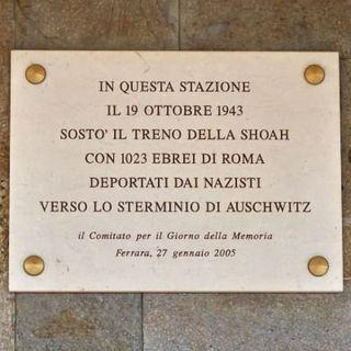 19 ottobre 1943. Sosta a Ferrara il treno diretto ad Auschwitz