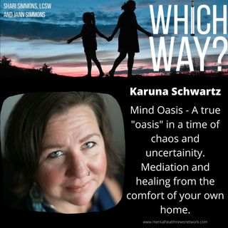 """Mind Oasis - A true """"oasis"""" in a time of chaos and uncertainty. Meditation and healing from the comfort of your own home!"""