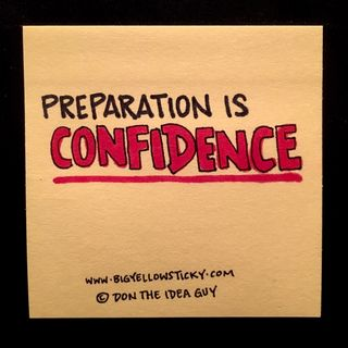 Preparation Is Confidence : BYS 180