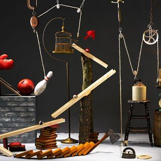 God: The Ultimate Rube Goldberg Machine