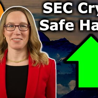 BITCOIN GOLDEN CROSS $10K SOON - Crypto Safe Harbor Propsed by SEC CryptoMom Hester Peirce