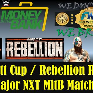 Huge NXT Money in the Bank Match - Crockett Cup Reaction
