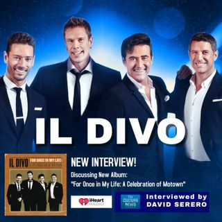 IL DIVO Interview with David Serero - The Culture News