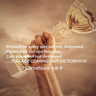 April 18 You are coming out of that challenge VICTORIOUS