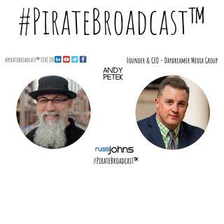 Catch Andy Petek on the #PirateBroadcast™
