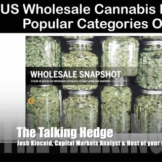 US Wholesale Cannabis Price Update & Popular Categories Overview