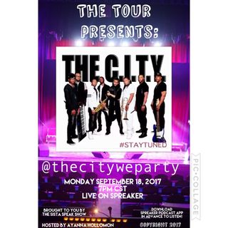 THE TOUR :SPECIAL GUEST THE CITY