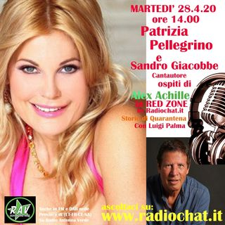 Patrizia Pellegrino e Sandro Giacobbe ospiti di Alex Achille in RED ZONE by Radiochat.it