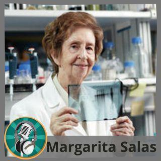 Daniel Gallardo con Margarita Salas