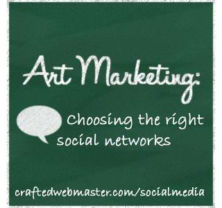 Art Marketing: Choosing the Right Social Networks