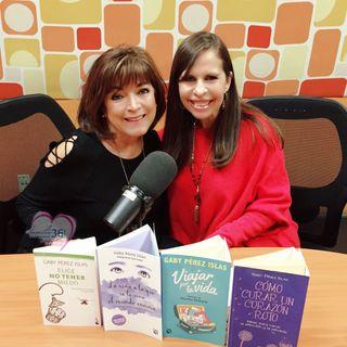 """Gaby Pérez Islas te dirá cómo disfrutar la vida """"sin complicaciones""""."""