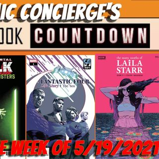 Top 10 Comics for the Week of 5/19/2021 Nightwing | Immortal Hulk | Fantastic Four and more...