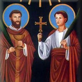 Santos Marcelino y Pedro