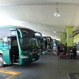 Terminales de autobuses sin filtros para detectar Coronavirus