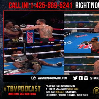 ☎️Immediate Reaction Deontay Wilder's Brother Marsellos Wilder Brutally Knocked Out😱