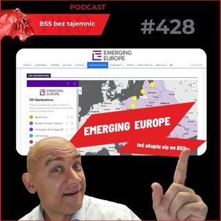 #428 Osiem minut o Emerging Europe i ich związku z sektorem BSS