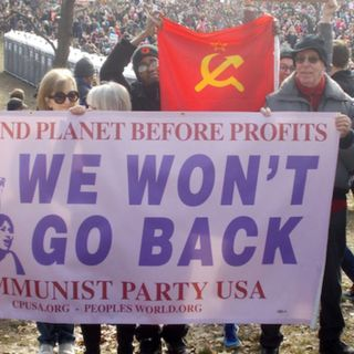 Episode 662: VIDEO TIME MACHINE GOING BACK TO JULY 2016 USA: Revolutionary Communist Party activists rally outside the RNC