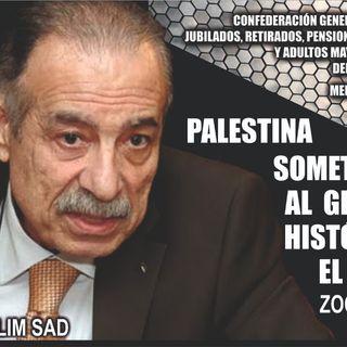 NO SEAN ANTI-ISRAELÍES, EL MENSAJE DE AMOR DEL EMBAJADOR DE PALESTINA EN ARGENTINA