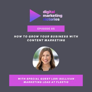 Ep 5: How To Grow Your Business With Content Marketing – Interview With Lori Sullivan
