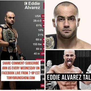 #BrunoNation - FANTASTIC Eddie Alvarez interview keeping it REAL!  10/12/16
