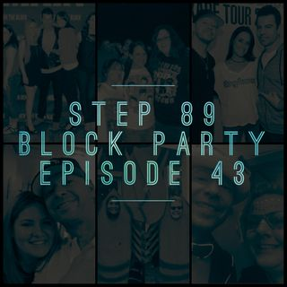 NKOTB Block Party #47: Nikki & Maria's Chat about NKOTB, New Kids on the Block Fan Stories from Kristen & The Lobsters!