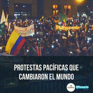 Protestas pacíficas que cambiaron el mundo