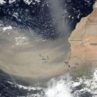 #ENTREVISTA | Polvo del Sahara se irá a mediados de Agosto, señala agrometeorólogo Agustin Moreira