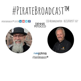 Catch Dennis Pitocco on the #PirateBroadcast™